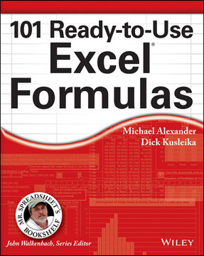 101 ready to use excel formulas book