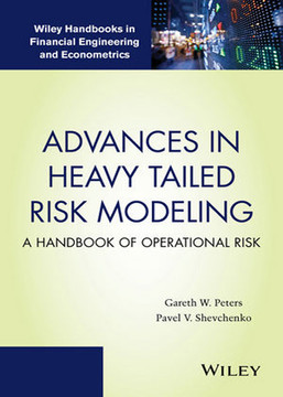 Advances in Heavy Tailed Risk Modeling: A Handbook of Operational Risk