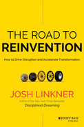 Cover of The Road to Reinvention: How to Drive Disruption and Accelerate Transformation