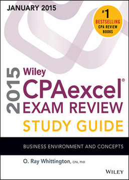 Wiley CPAexcel Exam Review 2015 Study Guide (January): Business Environment and Concepts