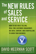 Cover of The New Rules of Sales and Service: How to Use Agile Selling, Real-Time Customer Engagement, Big Data, Content, and Storytelling to Grow Your Business