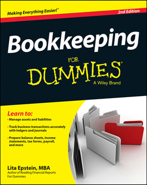 Bookkeeping For Dummies, 2nd Edition