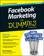 Book cover for Facebook Marketing For Dummies, 5th Edition