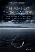 Cover of Phishing Dark Waters: The Offensive and Defensive Sides of Malicious Emails