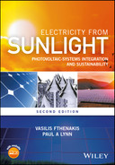 Cover of Electricity from Sunlight, 2nd Edition