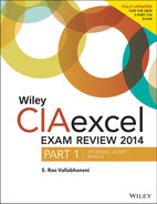 Cover of Wiley CIAexcel Exam Review 2014: Part 1, Internal Audit Basics