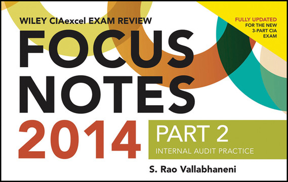 Wiley CIAexcel Exam Review 2014 Focus Notes: Part 2, Internal Audit Practice