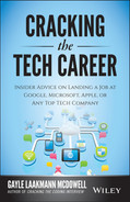 Cover of Cracking the Tech Career: Insider Advice on Landing a Job at Google, Microsoft, Apple, or any Top Tech Company