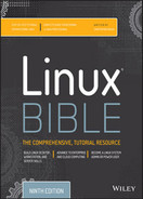 Cover of Linux Bible, 9th Edition