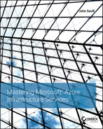 Cover of Mastering Microsoft Azure Infrastructure Services
