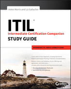 Cover of ITIL Intermediate Certification Companion Study Guide