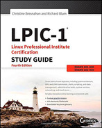 Cover of LPIC-1 Linux Professional Institute Certification Study Guide: Exam 101-400 and Exam 102-400, 4th Edition