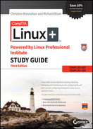 Cover of CompTIA Linux+ Powered by Linux Professional Institute Study Guide: Exam LX0-103 and Exam LX0-104, 3rd Edition