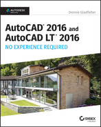 Book cover for AutoCAD 2016 and AutoCAD LT 2016 No Experience Required: Autodesk Official Press