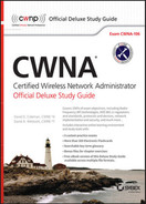 Cover of CWNA Certified Wireless Network Administrator Official Deluxe Study Guide: Exam CWNA-106