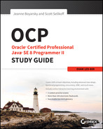 Cover of OCP Oracle® Certified Professional Java® SE 8 Programmer II