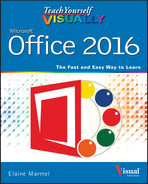 Book cover for Teach Yourself VISUALLY Office 2016