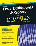 Cover of Excel Dashboards and Reports for Dummies, 3rd Edition