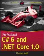 Cover of Professional C# 6 and .NET Core 1.0