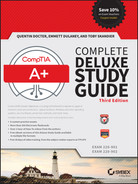 Cover of CompTIA® A+® Complete Deluxe Study Guide: Exams 220-901 and 220-902, 3rd Edition