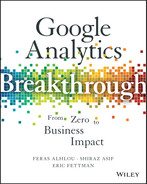 Cover of Google Analytics Breakthrough