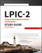 Cover of LPIC-2: Linux Professional Institute Certification Study Guide, 2nd Edition