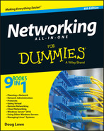 Cover of Networking All-in-One For Dummies