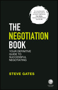 Cover of The Negotiation Book