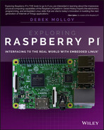 Cover of Exploring Raspberry Pi