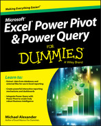 Cover of Excel Power Pivot and Power Query For Dummies