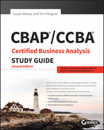 Cover of CBAP / CCBA Certified Business Analysis Study Guide, 2nd Edition