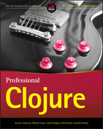 Cover of Professional Clojure