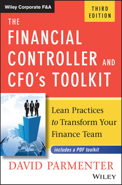 The Financial Controller and CFO's Toolkit, 3rd Edition