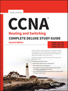 Cover of CCNA Routing and Switching Complete Deluxe Study Guide, 2nd Edition