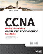 Cover of CCNA Routing and Switching Complete Review Guide, 2nd Edition