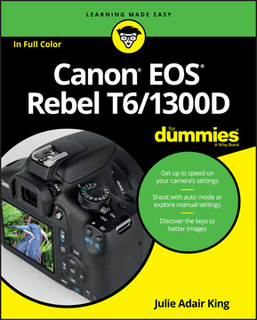 Canon EOS Rebel T6/1300D For Dummies [Book]