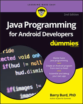 Java Programming For Android Developers For Dummies 2nd Edition Book