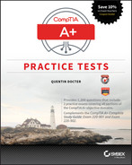Cover of CompTIA A+ Practice Tests