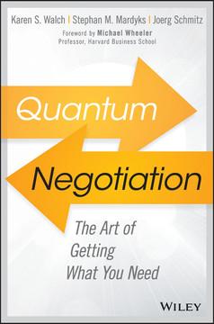 Quantum Negotiation