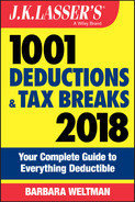 Cover of J.K. Lasser's 1001 Deductions and Tax Breaks 2018