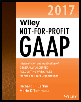 Wiley Not-for-Profit GAAP 2017