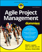 Cover of Agile Project Management For Dummies, 2nd Edition
