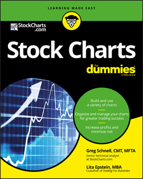 Stock Charts For Dummies Book
