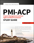Cover of PMI-ACP Project Management Institute Agile Certified Practitioner Exam Study Guide