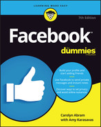 Cover of Facebook For Dummies, 7th Edition