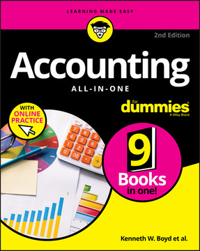 Accounting All-in-One For Dummies, with Online Practice, 2nd Edition