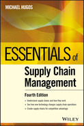 Cover of Essentials of Supply Chain Management, 4th Edition