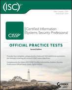Cover of CISSP Official (ISC)2 Practice Tests, 2nd Edition