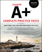 CompTIA A+ Complete Practice Tests, 2nd Edition