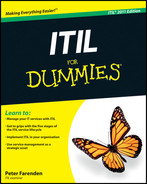 Cover of ITIL For Dummies, 2011 Edition